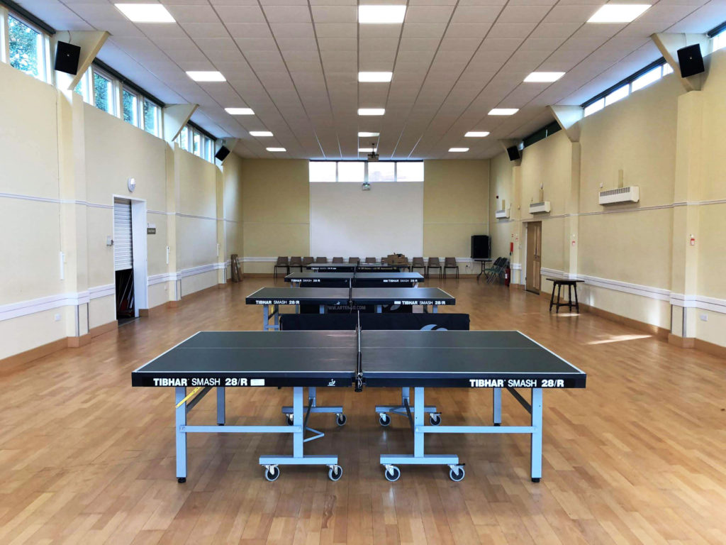 4 table tennis tables